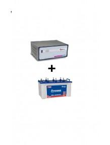 Microtek Home Ups SW 2.5 kva and EB 1600 Tubular Battery