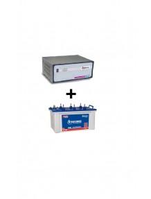 Microtek Home Ups SW 2.5 Kva and EB 1800 Tubular Battery