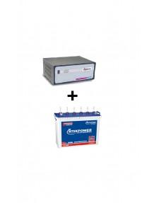 Microtek Inverter SW 2.5kva and ET 648 Tubular Battery