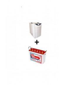 Exide Sinewave Inverter 2.5kva and IM 10000 Tubular Battery