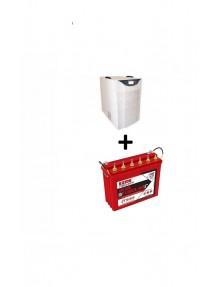 Exide Sinewave Inverter 5Kva and IT 500 Tubular Battery