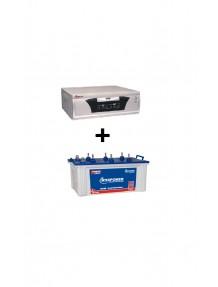 Microtek Home Ups 1500 and EB 1600 Tubular Battery