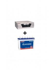 Microtek Inverter 1500va and ET 8080 Tubular Battery