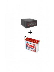 Exide Sinewave Inverter 2kva and IM 10000 Tubular Battery