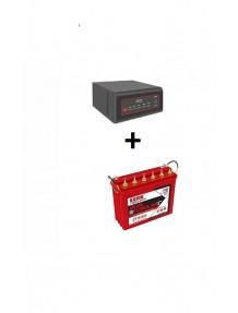 Exide Sinewave Inverter 700va and IT 500 Tubular Battery