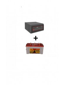 Exide Sinewave Inverter 900va and TM500 Tubular Battery
