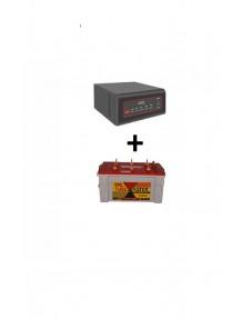 Exide Sinewave Inverter 2kva and TM500 Tubular Battery