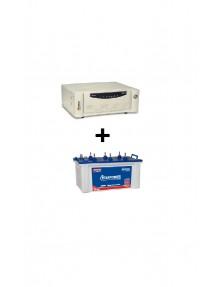 Microtek Home Ups SW 2kva and EB 1600 Tubular Battery