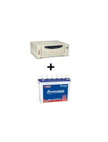 Microtek Inverter SW 2kva and ET 648 Tubular Battery