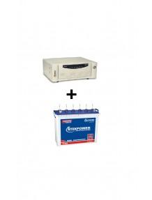 Microtek Inverter SW 2Kva and ET 8080Tubular Battery