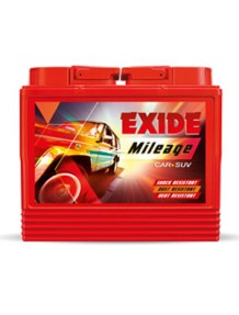 Exide Car Battery MILEAGE MR40LBH RED