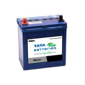 Tata Green Car Battery 38b20l 35ah Silver