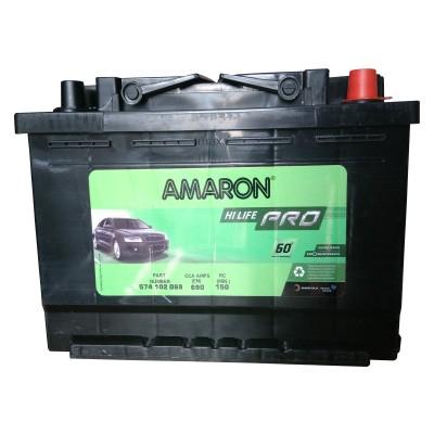 Amaron Car Battery Aam Pro 574102069 Din74 Amaron Car