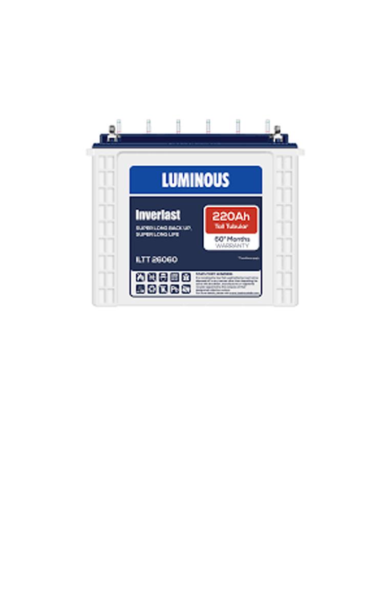 Luminous Inverter Battery Iltt 26060 Price Luminous