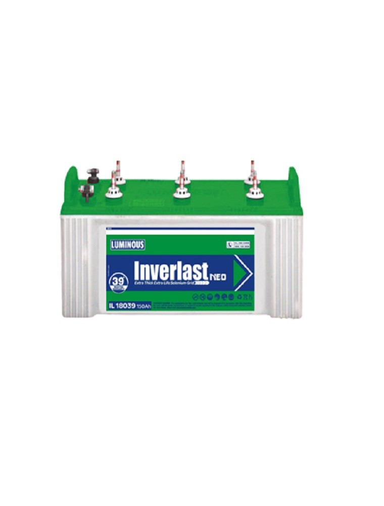 Luminous Inverter Battery Il18039 Price Luminous
