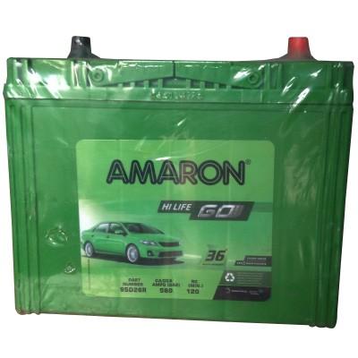 Amaron Car Battery Aam Go 00095d26r