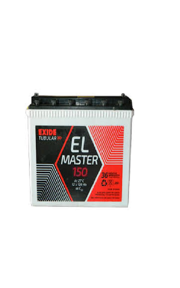 Exide inverter battery el master 150ah tall tubular