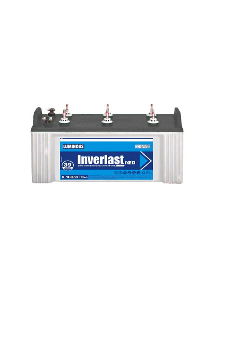 Luminous Inverter Battery Inverlast 16039 Price Luminous