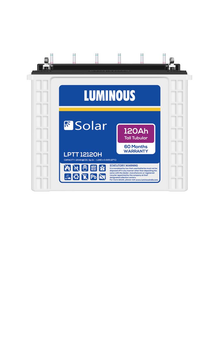 Luminous Solar Battery 120ah Price Luminous Solar