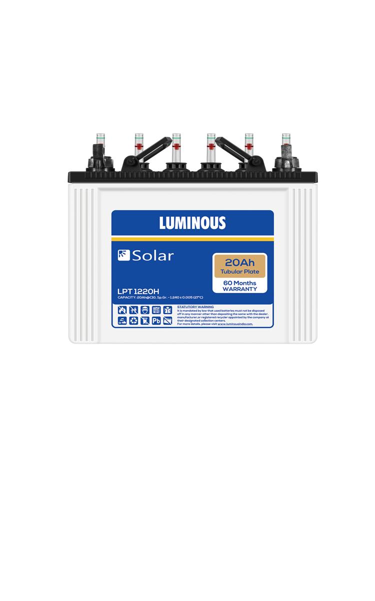 Luminous Solar Battery 20ah Price Luminous Solar Battery