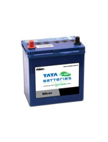 Tata Green Car Battery 38B20L 35AH Silver