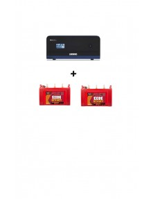 Luminous Inverter 1700 and Exide Insta Brite 1500 Tubular Battery