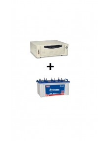 Microtek Home Ups SW 2 Kva and EB 1800 Tubular Battery